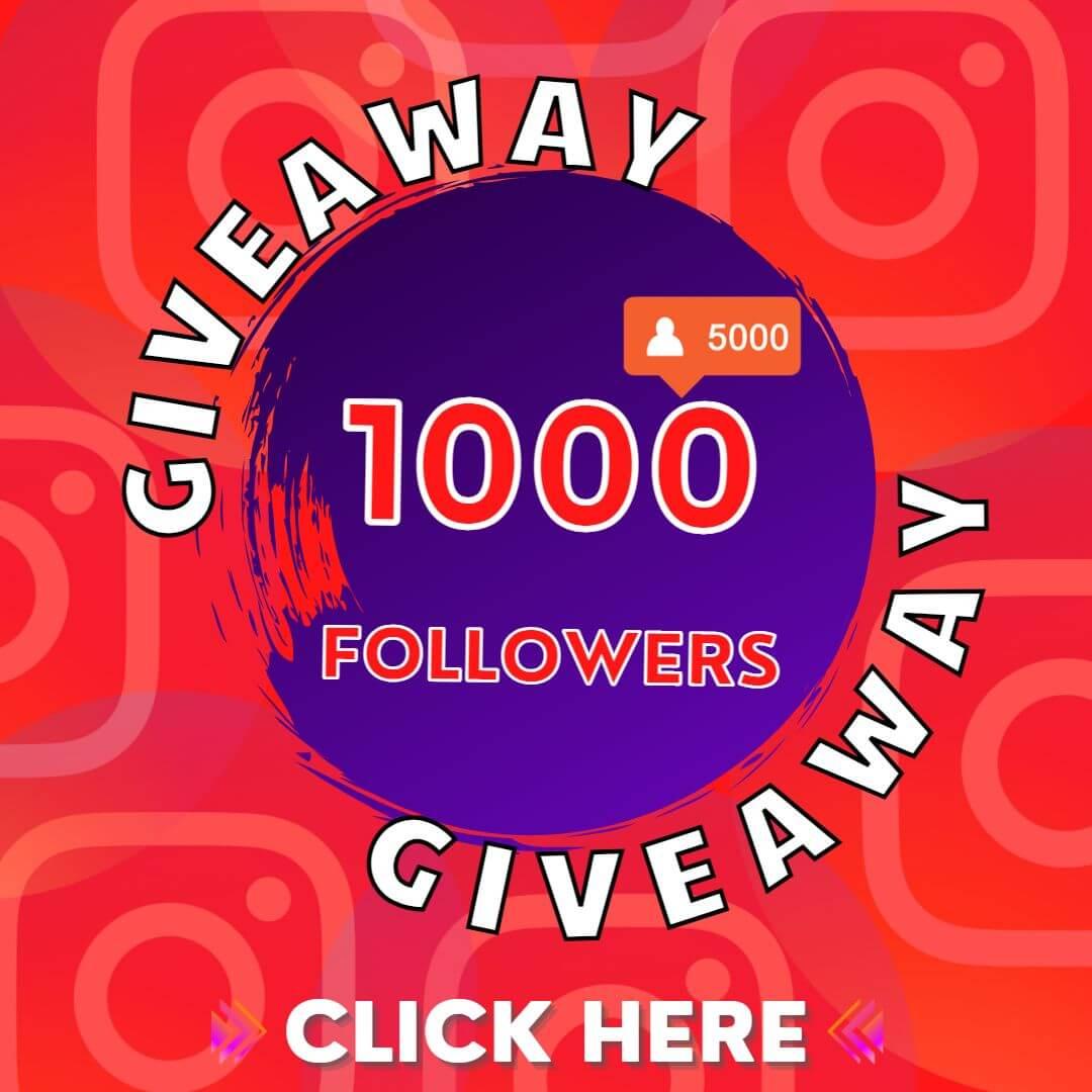 legit hacks free followers Giveaway